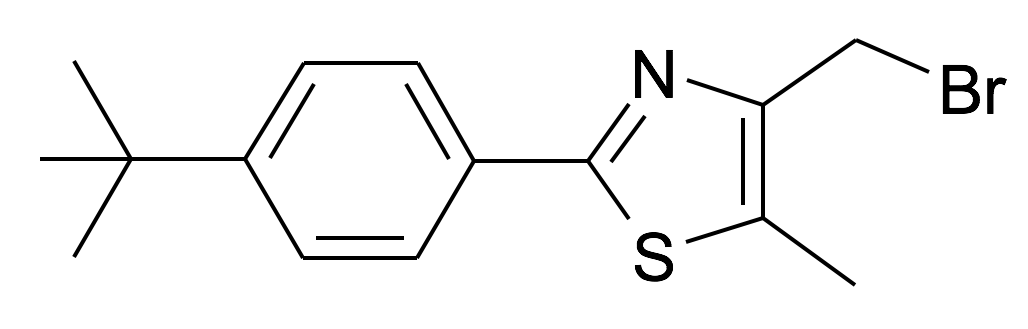 4-Bromomethyl-2-(4-tert-butyl-phenyl)-5-methyl-thiazole