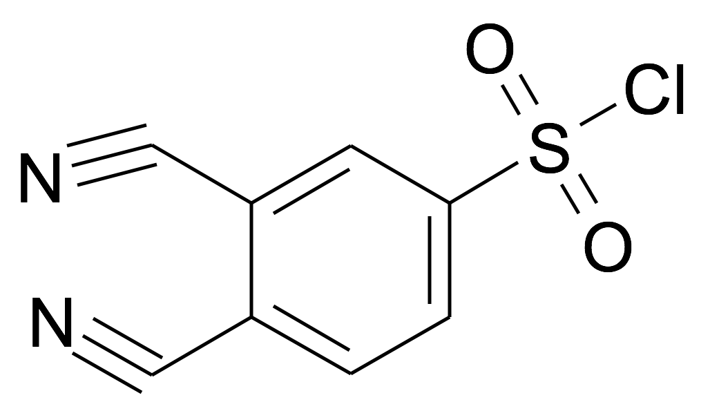 3,4-Dicyano-benzenesulfonyl chloride