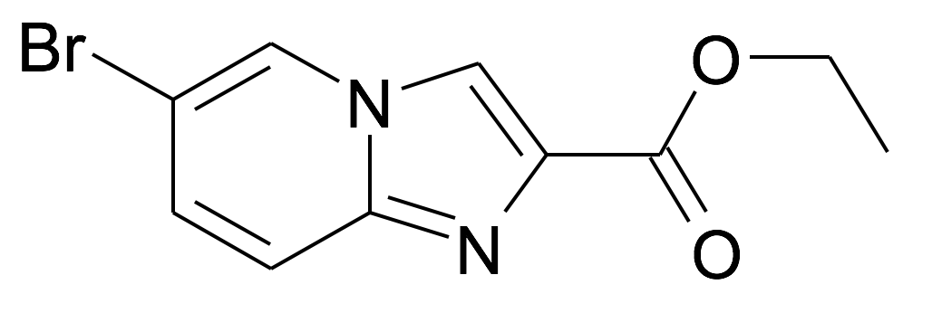 6-Bromo-imidazo[1,2-a]pyridine-2-carboxylic acid ethyl ester