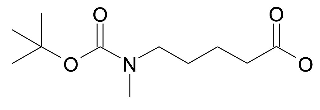 5-(tert-Butoxycarbonyl-methyl-amino)-pentanoic acid