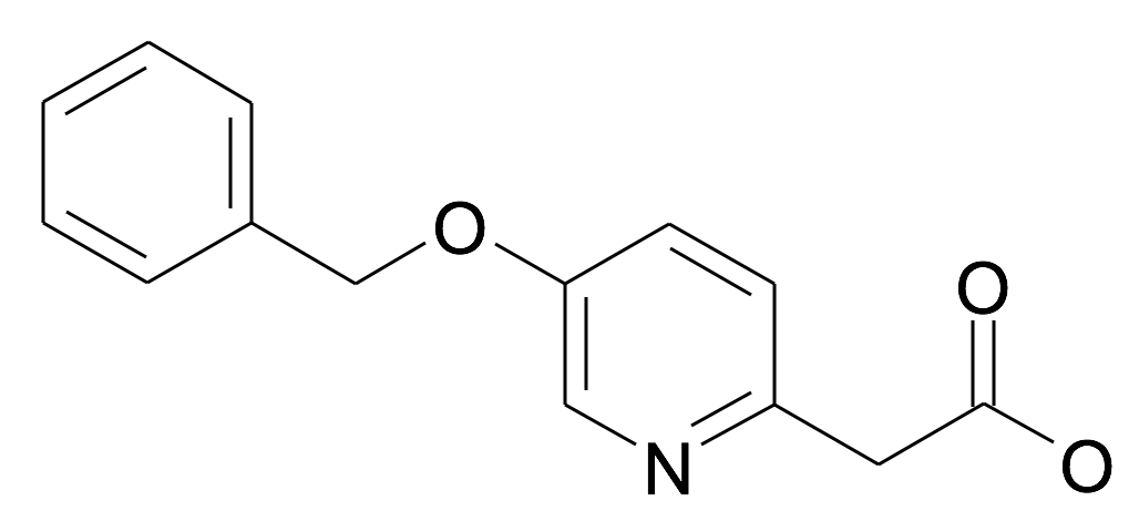 (5-Benzyloxy-pyridin-2-yl)-acetic acid