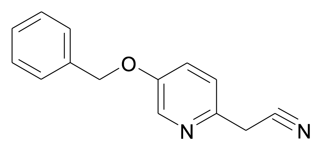 (5-Benzyloxy-pyridin-2-yl)-acetonitrile