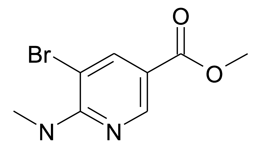 5-Bromo-6-methylamino-nicotinic acid methyl ester