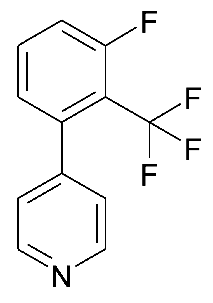 4-(3-Fluoro-2-trifluoromethyl-phenyl)-pyridine