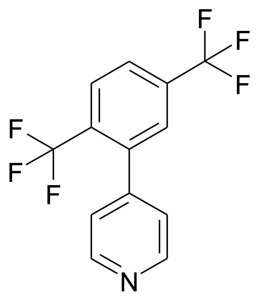 4-(2,5-Bis-trifluoromethyl-phenyl)-pyridine