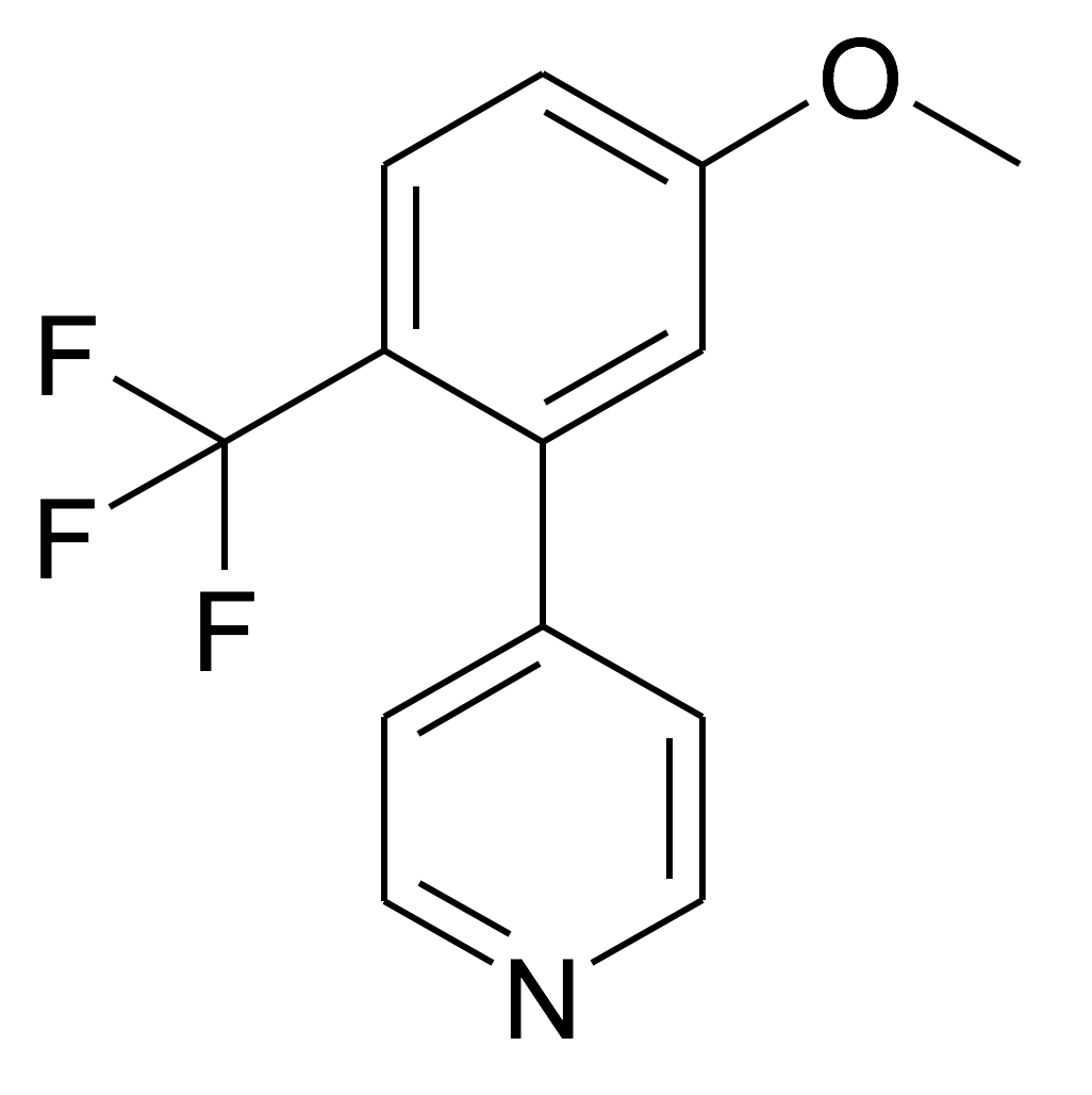 4-(5-Methoxy-2-trifluoromethyl-phenyl)-pyridine