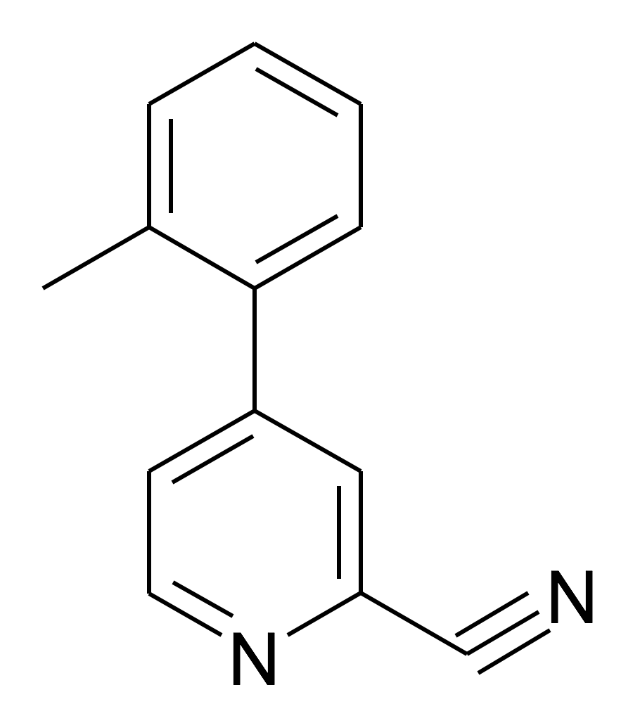 4-o-Tolyl-pyridine-2-carbonitrile