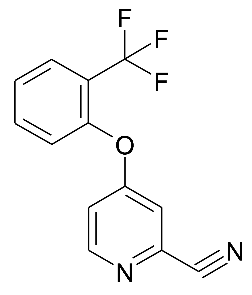 4-(2-Trifluoromethyl-phenoxy)-pyridine-2-carbonitrile
