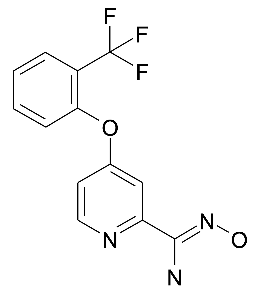 N-Hydroxy-4-(2-trifluoromethyl-phenoxy)-pyridine-2-carboxamidine