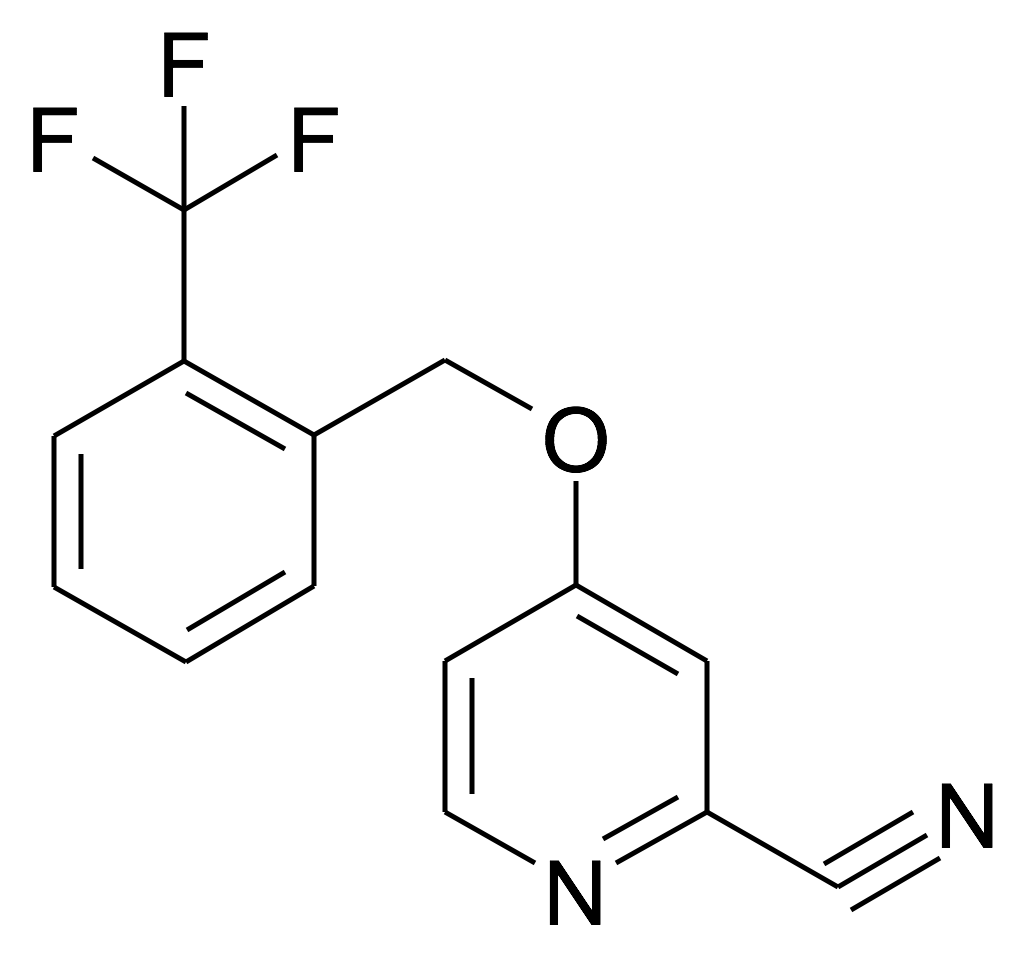 4-(2-Trifluoromethyl-benzyloxy)-pyridine-2-carbonitrile