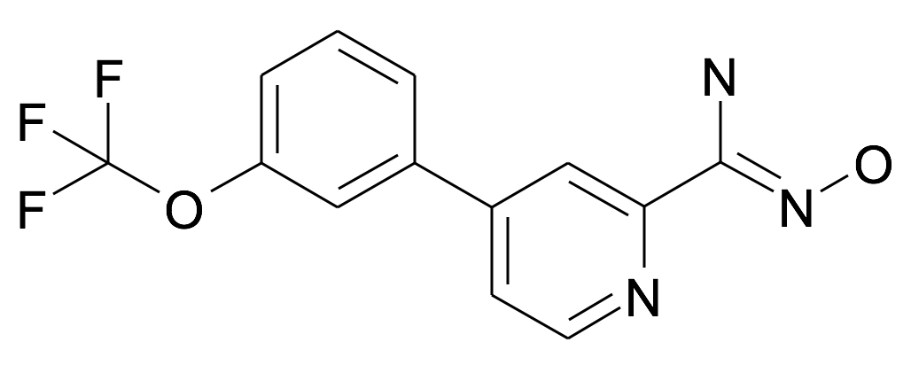 N-Hydroxy-4-(3-trifluoromethoxy-phenyl)-pyridine-2-carboxamidine