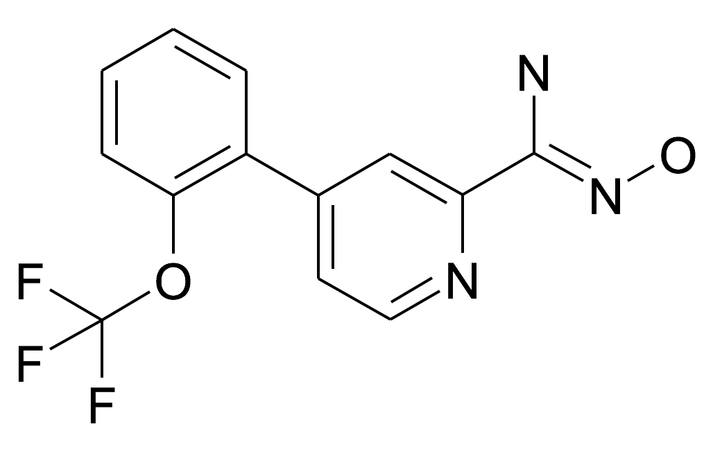 N-Hydroxy-4-(2-trifluoromethoxy-phenyl)-pyridine-2-carboxamidine