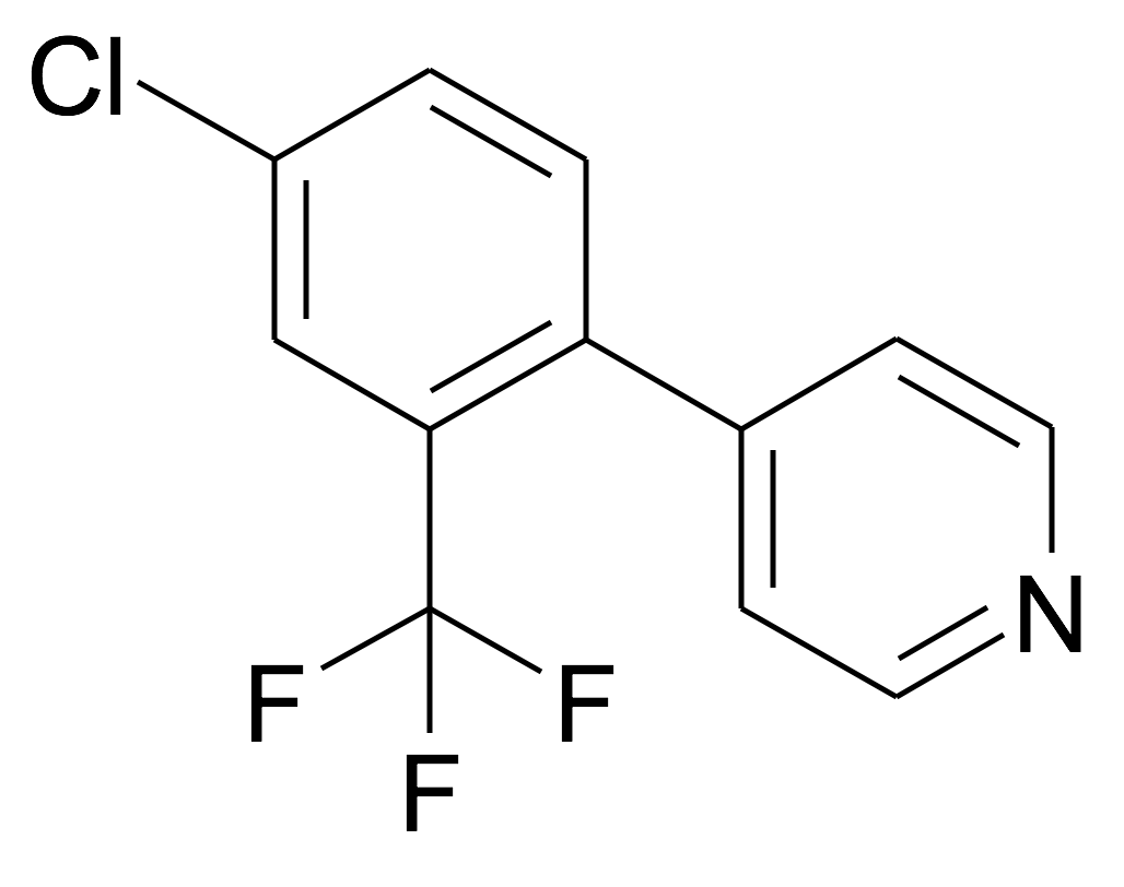 4-(4-Chloro-2-trifluoromethyl-phenyl)-pyridine