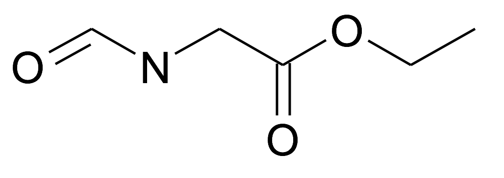 Formylamino-acetic acid ethyl ester