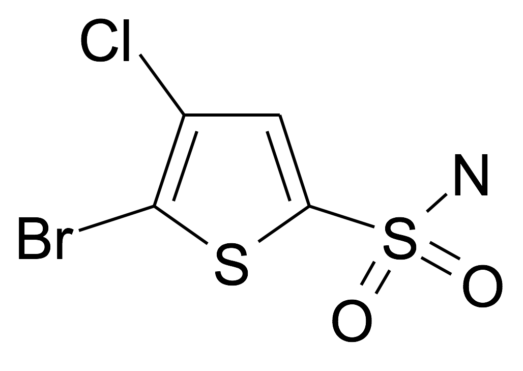 5-Bromo-4-chloro-thiophene-2-sulfonic acid amide