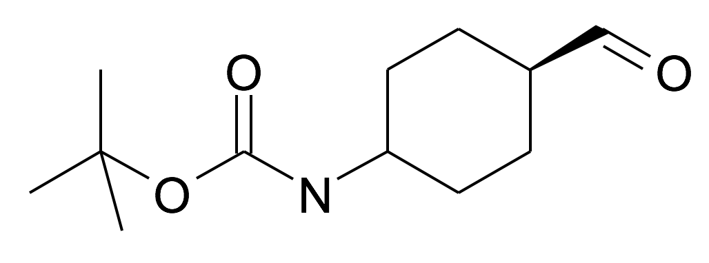 (4-Formyl-cyclohexyl)-carbamic acid tert-butyl ester