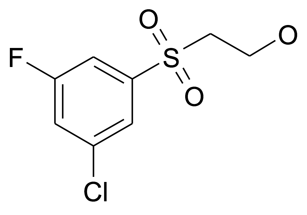 2-(3-Chloro-5-fluoro-benzenesulfonyl)-ethanol