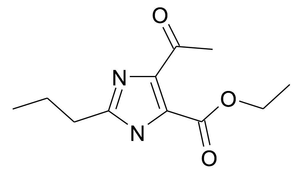 5-Acetyl-2-propyl-3H-imidazole-4-carboxylic acid ethyl ester