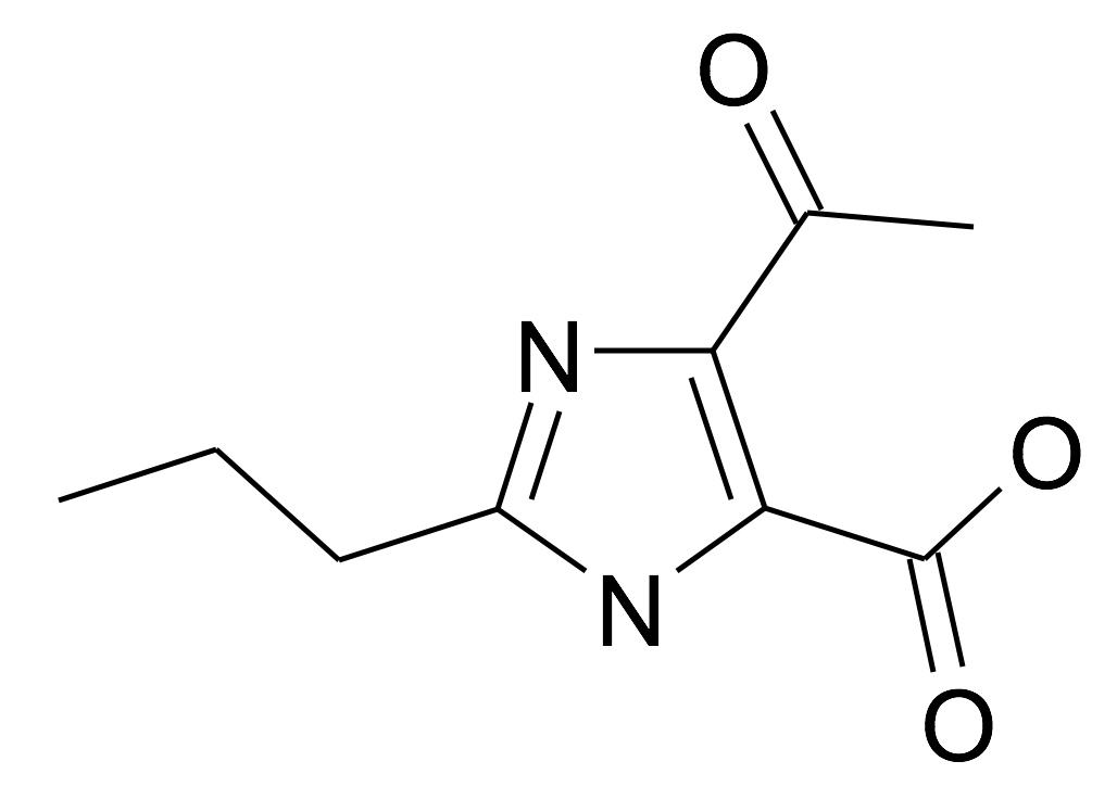 5-Acetyl-2-propyl-3H-imidazole-4-carboxylic acid