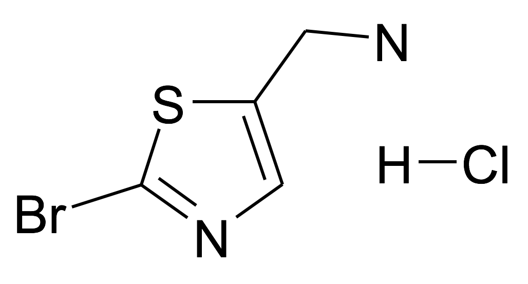 C-(2-Bromo-thiazol-5-yl)-methylamine; hydrochloride