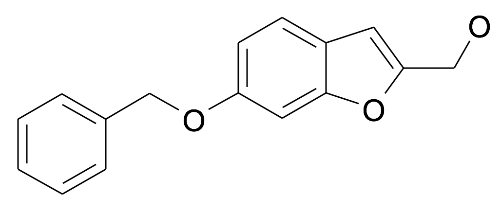 (6-Benzyloxy-benzofuran-2-yl)-methanol