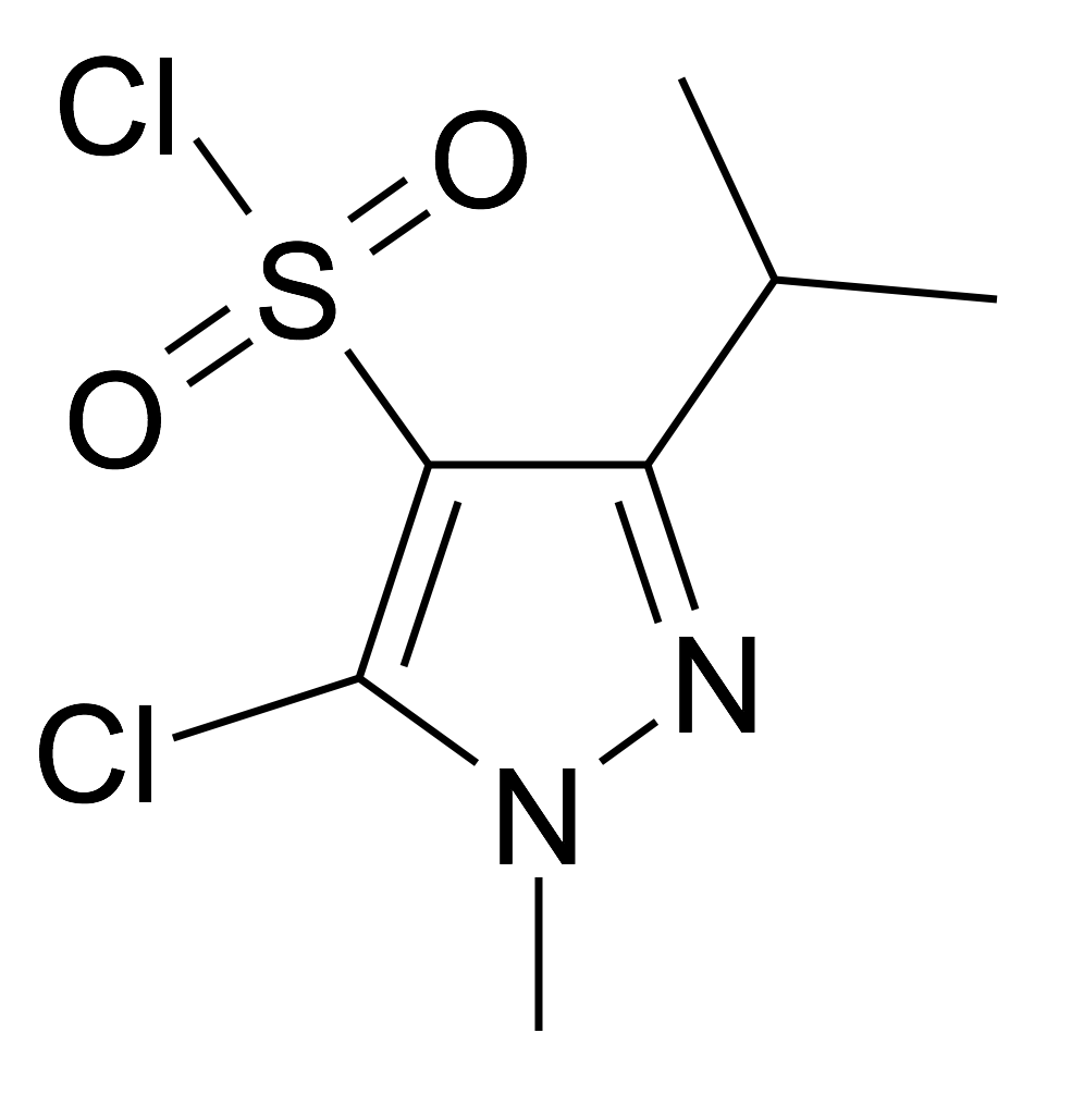 5-Chloro-3-isopropyl-1-methyl-1H-pyrazole-4-sulfonyl chloride