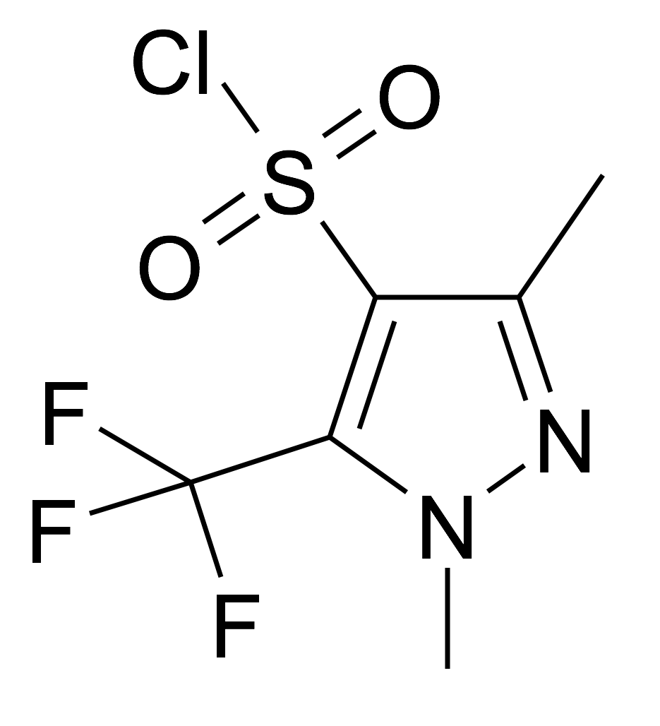 1,3-Dimethyl-5-trifluoromethyl-1H-pyrazole-4-sulfonyl chloride