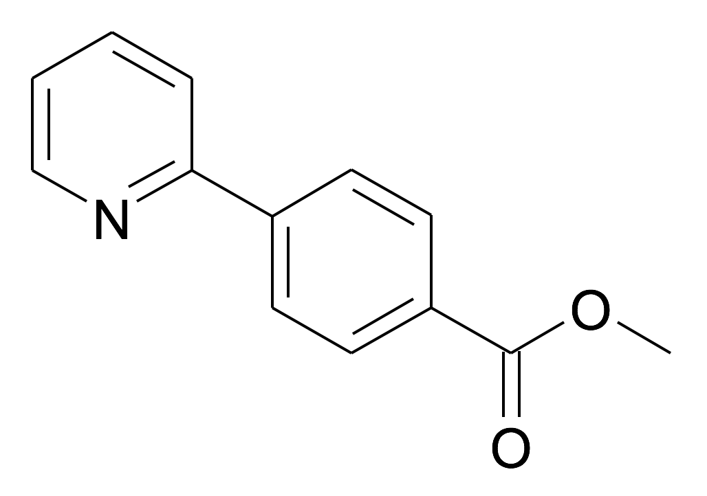 4-Pyridin-2-yl-benzoic acid methyl ester
