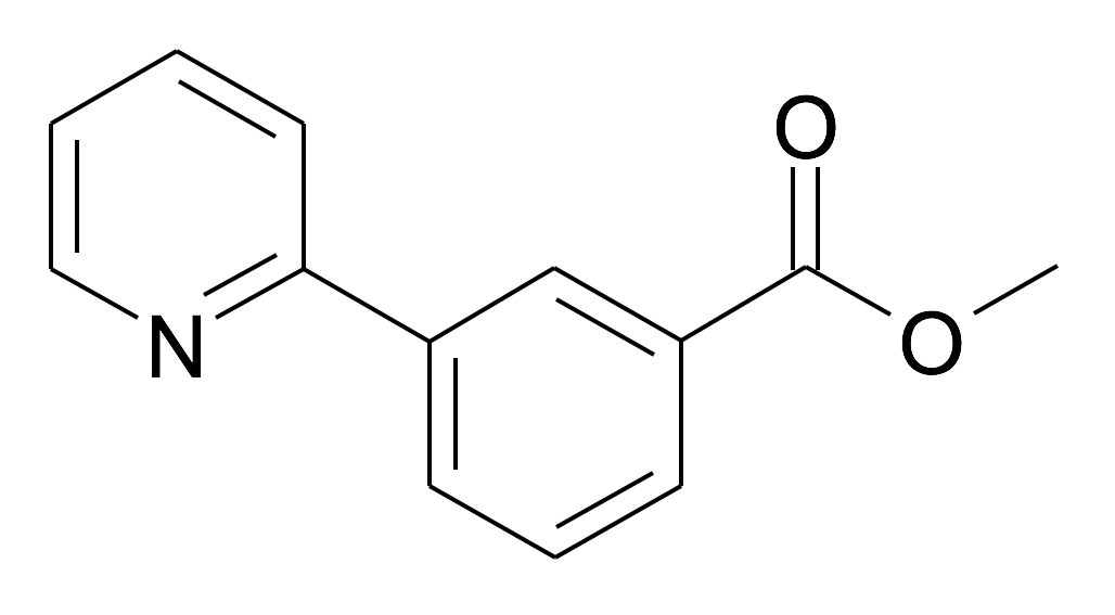 3-Pyridin-2-yl-benzoic acid methyl ester