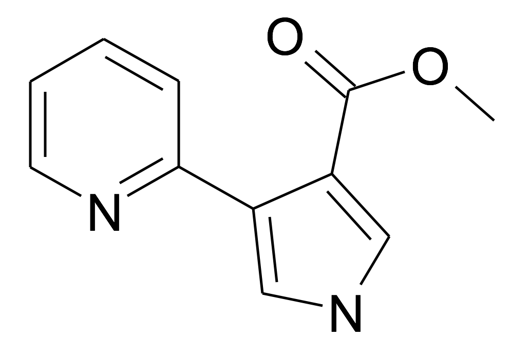 4-Pyridin-2-yl-1H-pyrrole-3-carboxylic acid methyl ester