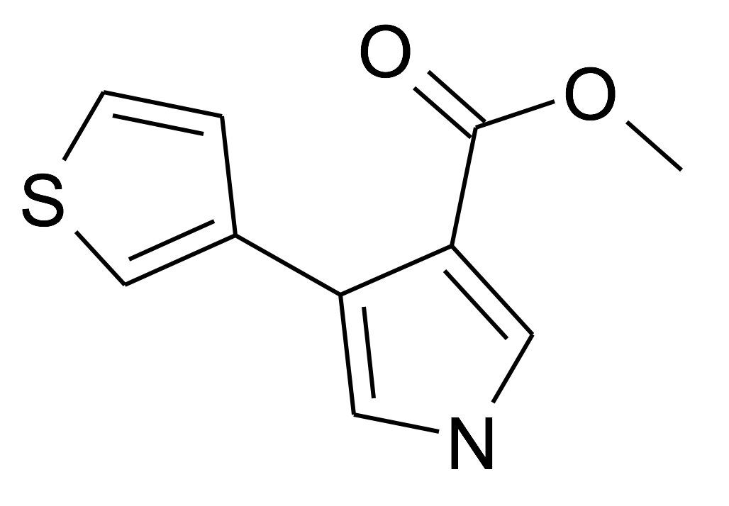 4-Thiophen-3-yl-1H-pyrrole-3-carboxylic acid methyl ester