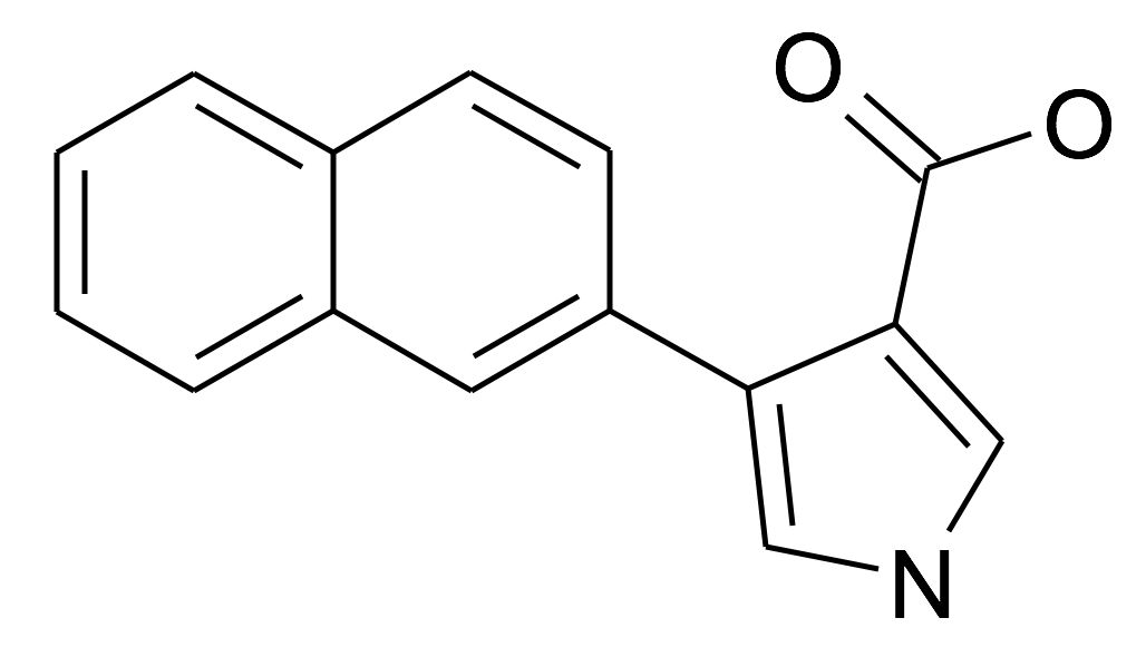 4-Naphthalen-2-yl-1H-pyrrole-3-carboxylic acid