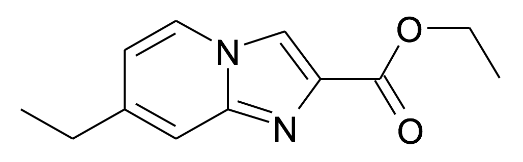| MFCD30726010 | 7-Ethyl-imidazo[1,2-a]pyridine-2-carboxylic acid ethyl ester | acints