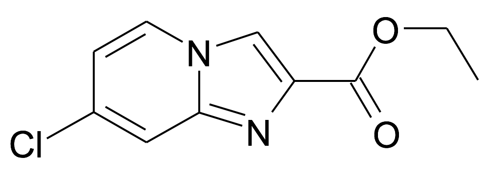 1204501-38-1 | MFCD11505035 | 7-Chloro-imidazo[1,2-a]pyridine-2-carboxylic acid ethyl ester | acints