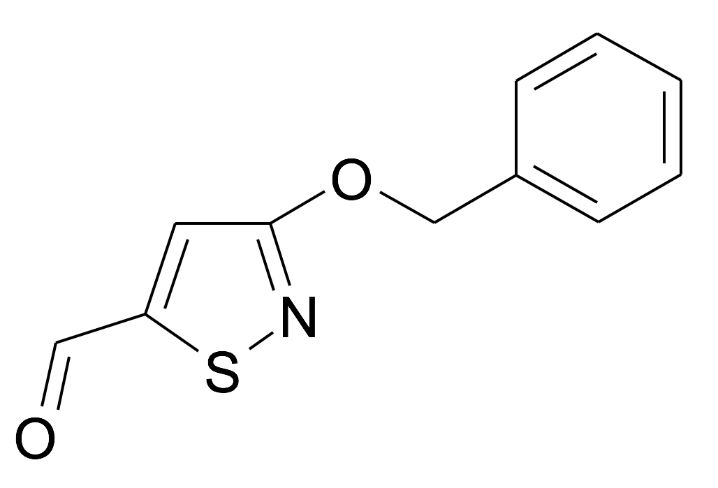 3-Benzyloxy-isothiazole-5-carbaldehyde