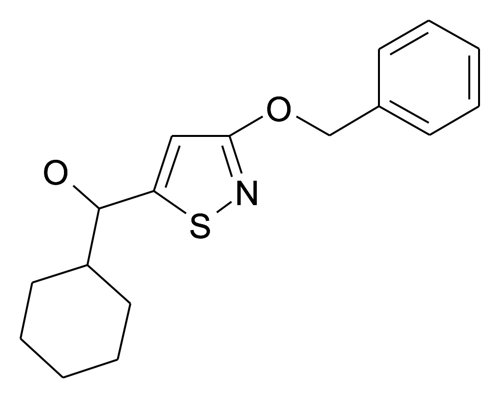 (3-Benzyloxy-isothiazol-5-yl)-cyclohexyl-methanol