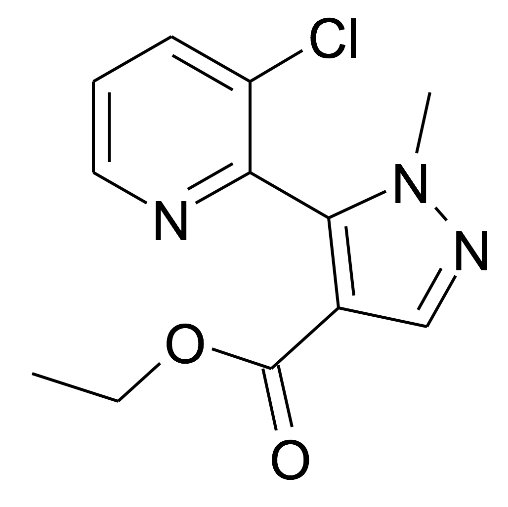 5-(3-Chloro-pyridin-2-yl)-1-methyl-1H-pyrazole-4-carboxylic acid ethyl ester
