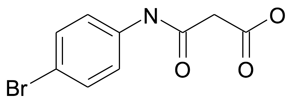 N-(4-Bromo-phenyl)-malonamic acid