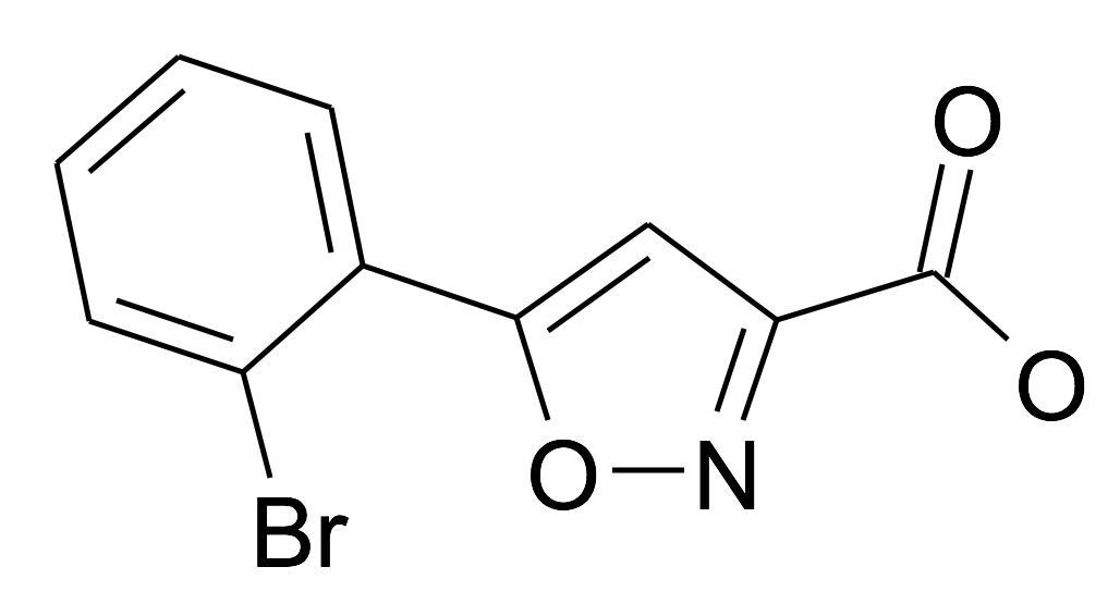 5-(2-Bromo-phenyl)-isoxazole-3-carboxylic acid