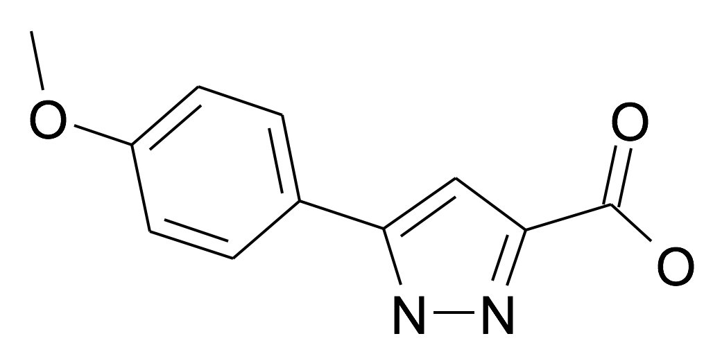 27069-16-5 | MFCD03716564 | 5-(4-Methoxy-phenyl)-1H-pyrazole-3-carboxylic acid | acints