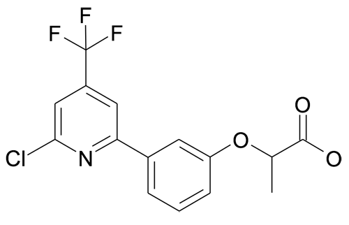 2-[3-(6-Chloro-4-trifluoromethyl-pyridin-2-yl)-phenoxy]-propionic acid