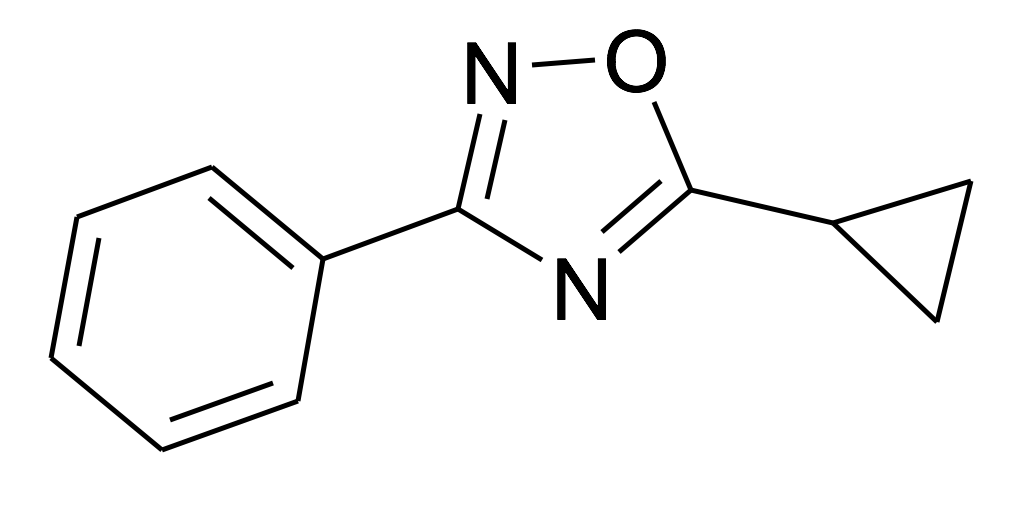 5-Cyclopropyl-3-phenyl-[1,2,4]oxadiazole