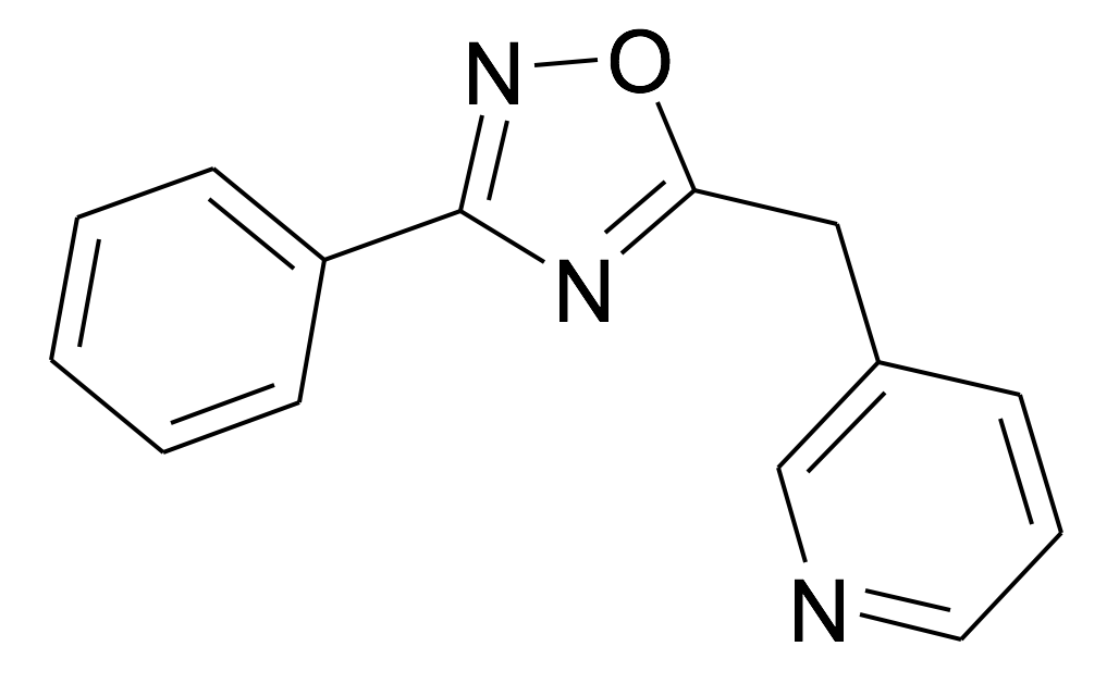 3-(3-Phenyl-[1,2,4]oxadiazol-5-ylmethyl)-pyridine