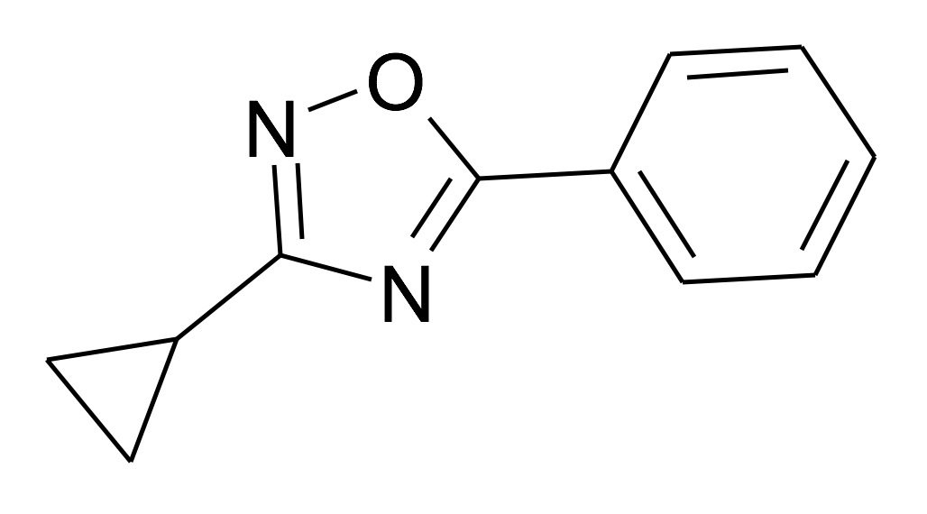 3-Cyclopropyl-5-phenyl-[1,2,4]oxadiazole