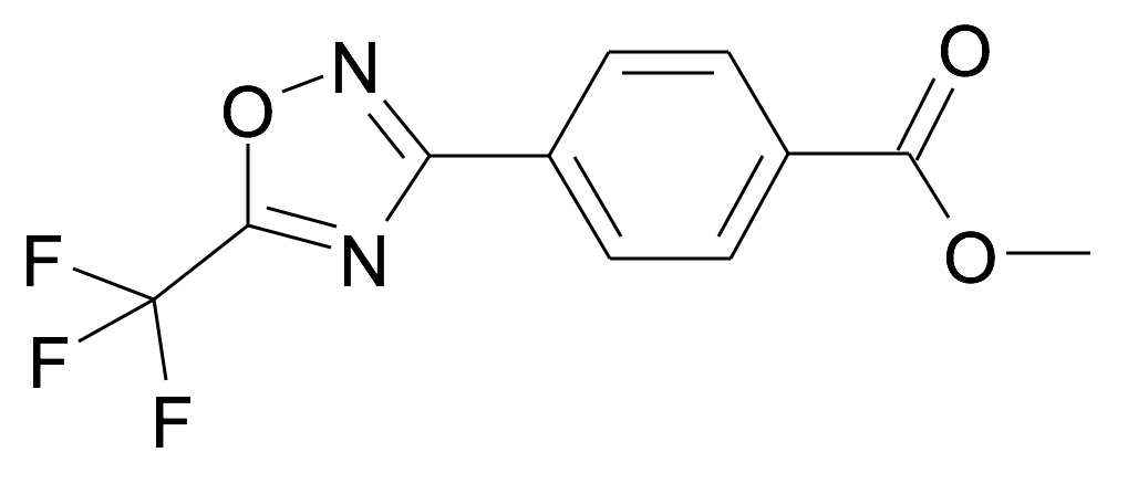 4-(5-Trifluoromethyl-[1,2,4]oxadiazol-3-yl)-benzoic acid methyl ester