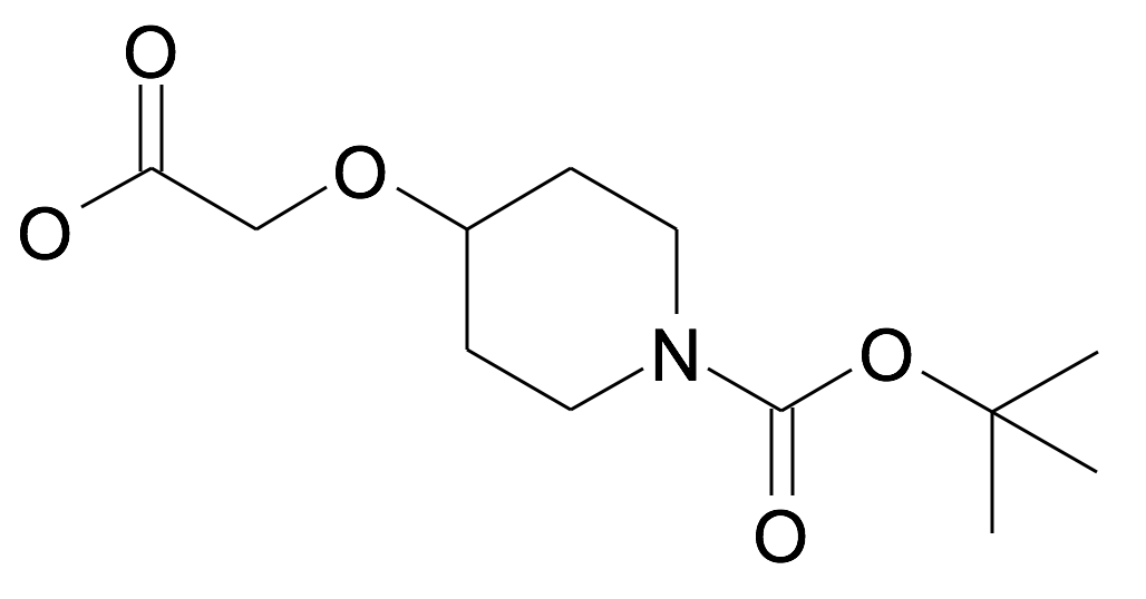 4-Carboxymethoxy-piperidine-1-carboxylic acid tert-butyl ester