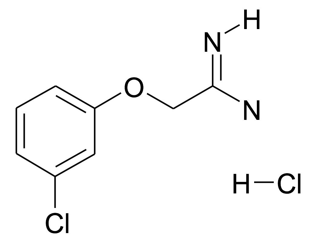 2-(3-Chloro-phenoxy)-acetamidine; hydrochloride