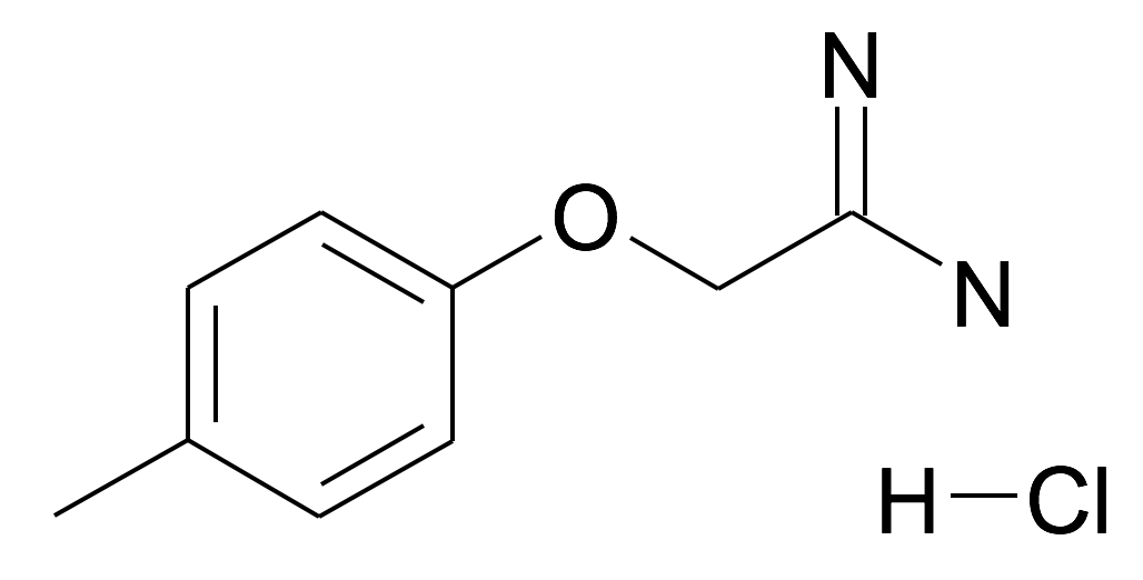2-p-Tolyloxy-acetamidine; hydrochloride