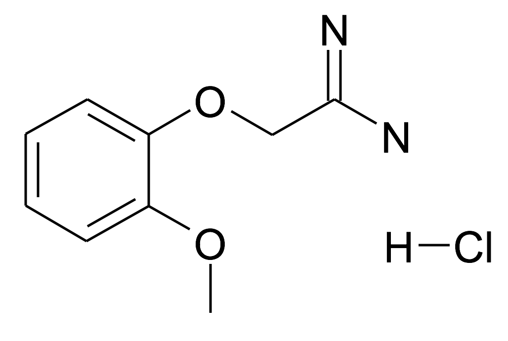 2-(2-Methoxy-phenoxy)-acetamidine; hydrochloride