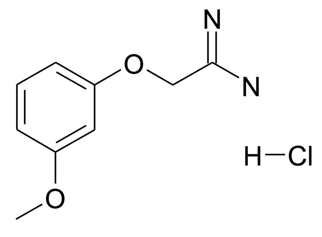 2-(3-Methoxy-phenoxy)-acetamidine; hydrochloride